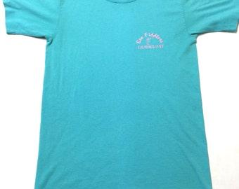 Vintage Sea Fiddler Restaurant I Fiddled Around Fernandina Beach Florida T-Shirt