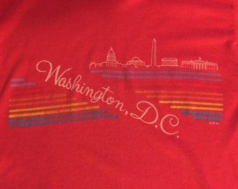 Vintage Wasington DC T-shirt - Small
