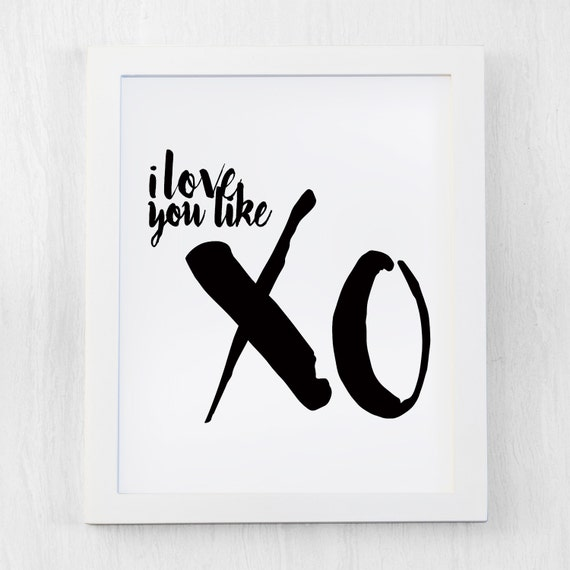 I Love You Like Xo Quotes : Beyonce quote, Inspirational Quote, I love you like xo , Modern Art ...