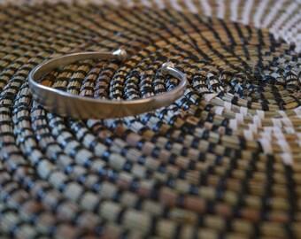 Traditional Senegalese bracelet silver - customizable