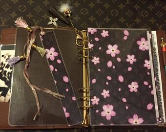 Hand made- Cherry Blossom Flowers Dashboard/Bookmark Option