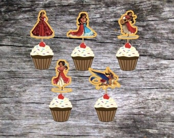 Sale! Elena of Avalor Cupcake Toppers