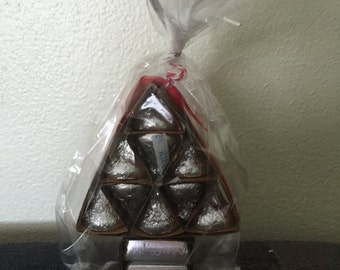 Christmas Tree Chocolate Filled Favor