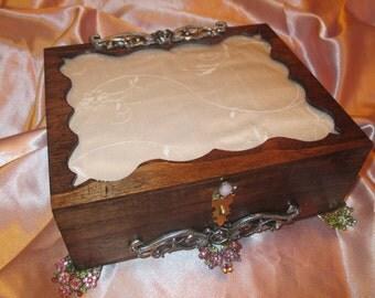 Trinket Jewlery Keepsake Box