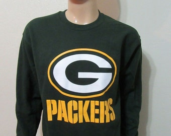 Green Bay Packers Crew Neck / Free Shipping!