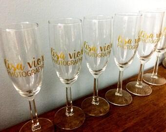 Custom Champagne Flute