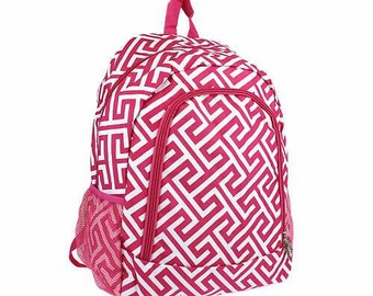 Back Packs - Personalized - Monogram - Back to School -