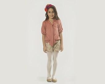 Mum's Girl Shorts Size 2-13 years old Shorts but Sweet - Primula
