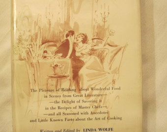 The Literary Gourmet First Edition with mint dust jacket