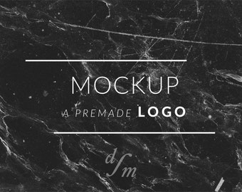 Logo Mockup for your Premade Logo Design