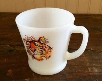 Vintage Esso Tiger Fire King Mug