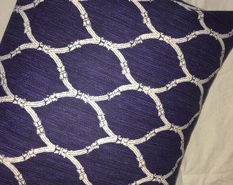 Navy Blue Pillow Cover