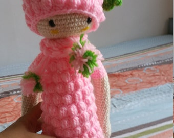 Pink berry from lalylala pattern