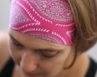 Yoga Headband, Workout Headband, Running Headband, Fitness Headband, Stretch Headband, Headband, No Slip Headband