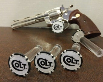 COLT, S&W and RUGER Display Props Rods, perfect for Gunshow display or for gun dealers!  (not prop guns)
