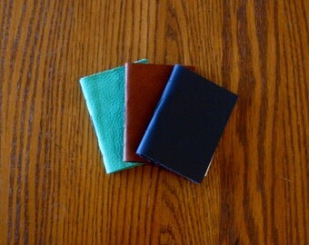 Pocket Sized Journals-Several Colors