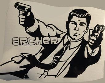Archer Decal #1