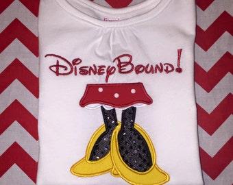 Disney Bound Minnie Feet Shirt or Bodysuit