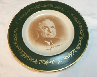 Harry S. Truman Collectible Plate