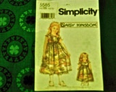 Daisy Kingdom Irish Shamrock Doll Dress Kit