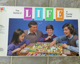 Vintage The Game of Life Board Game 1982 Version Rare