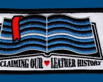 """Embroidered Patch - 4.5"""" wide"""