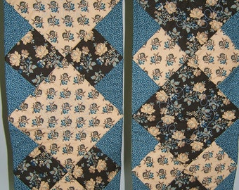 TWO table runners, side by side ( sold separately)
