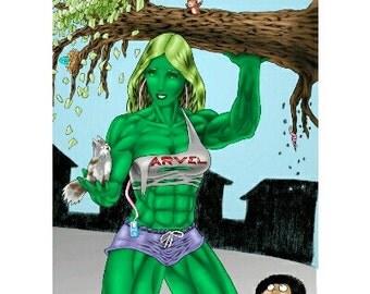 She-Hulk saves Muffins