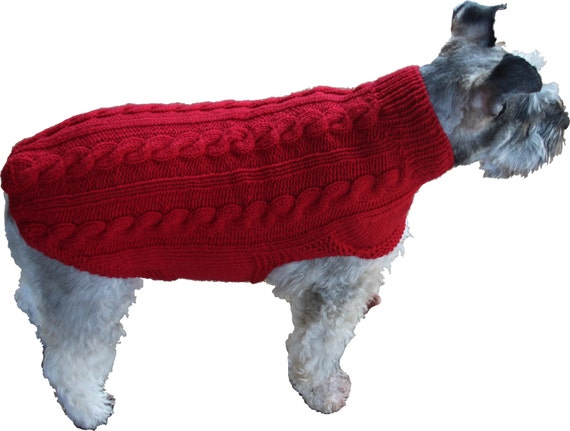 The Archie Dog Sweater Pattern