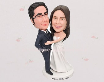 Wedding Cake Toppers, Custom wedding cake topper, wedding cake topper statue