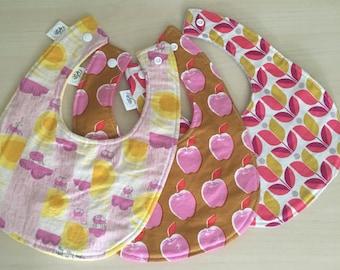 SALE Baby Girl Bibs Gift Set