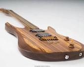 A5] guitars: Amber, handmade, unique, high quality instrument.