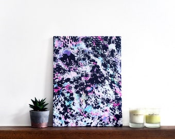 Abstract Wall Art Canvas, 'Crystal Fleck' Print, 16 x 12 inches