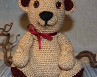 Teddy bear Amigurumi / crochet figure