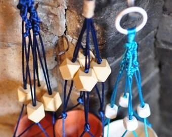 Mini Macrame with Beads & Knots