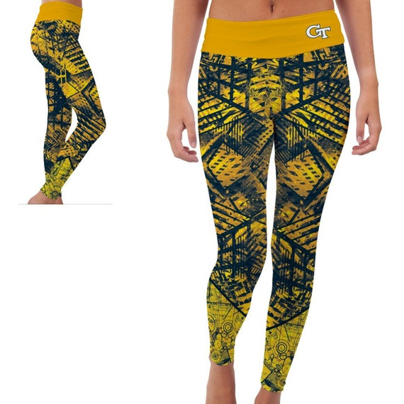 Georgia Tech Yellow Jackets Yoga Pants Designs