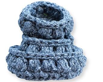 Storage basket, bag, decoration,hooked, hand-knitted