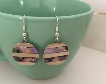 Abalone jewelry earrings