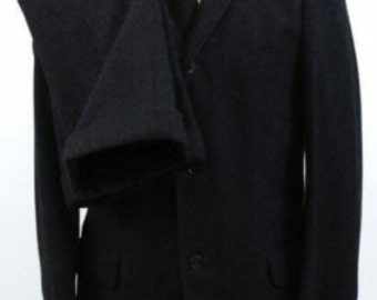 1950s Hollywood Suit black