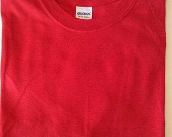 Gildan TShirts Blank, Red, Cornfloer Blue, Turquoise, Black, Pink