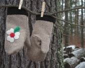 Ladies Wool Mittens