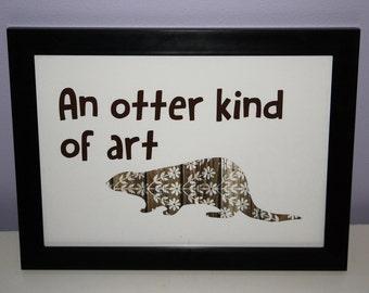 An otter kind of art