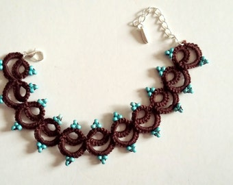 Strap lace tatting - Collection Anna Lisa