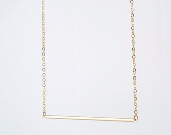 Fannie gold plated necklace