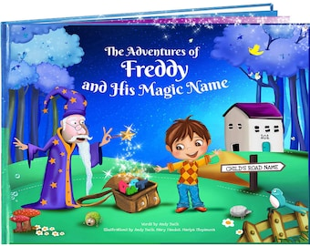 Personalised Baby Gifts  - A Beautiful Personalised Story Book - Fab Present for Children Aged 0-8 Years - Keepsake Gift - NEXT DAY DISPATCH