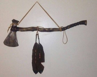 SOLD Native American battle ax