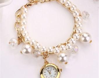 Dangling Watch Bracelet