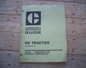 Caterpillar D8 Tractor Maintenance Guide 9-75