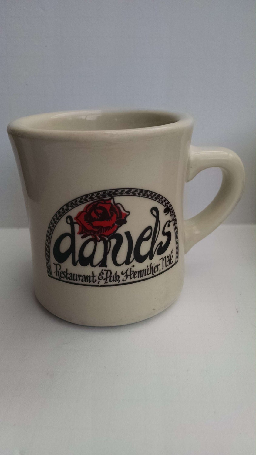 Heavy Diner Style Coffee Mug From Daniel 39 S By