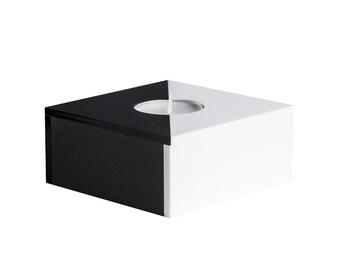 VIVE Geometric Modern Single Tea Light Block